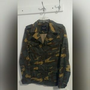 Madewell Outbound Camo Jacket Size Small